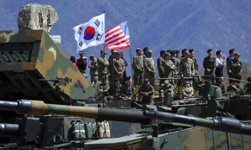 Mỹ - Hàn khai mạc cuộc diễn tập thay thế tập trận quy mô lớn