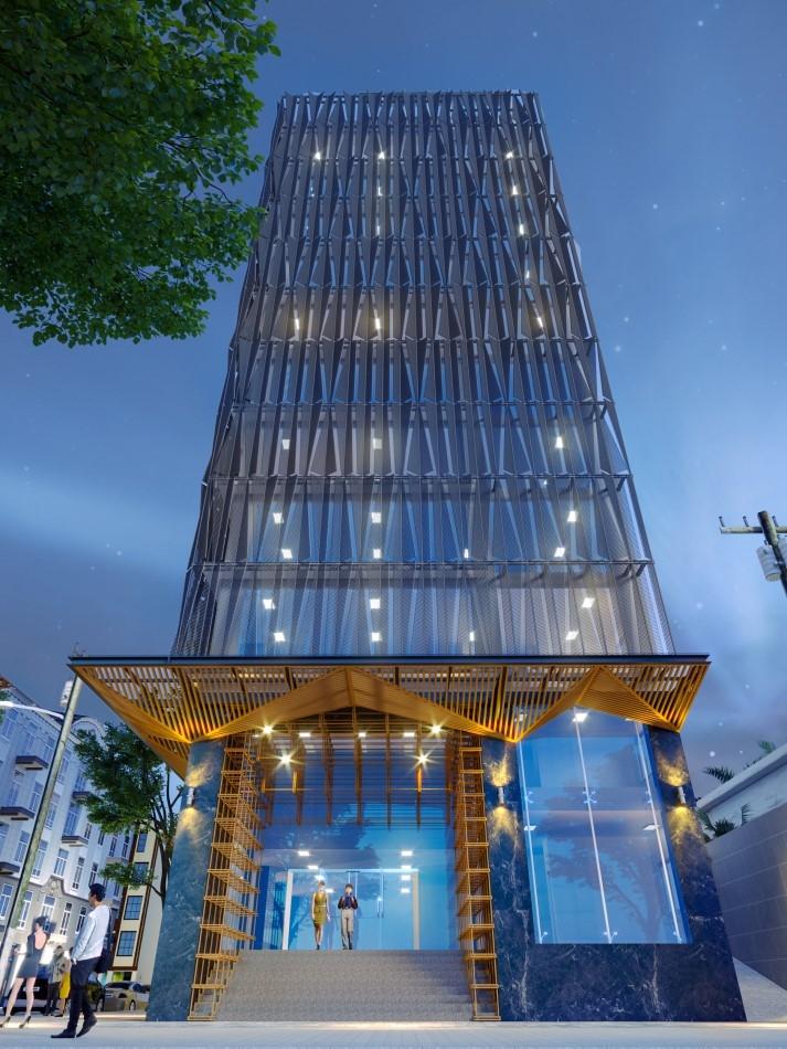 Anh Minh Tower tọa lạc tại số 56 Nguyễn Đình Chiểu, P.Đakao, Q.1, HCM