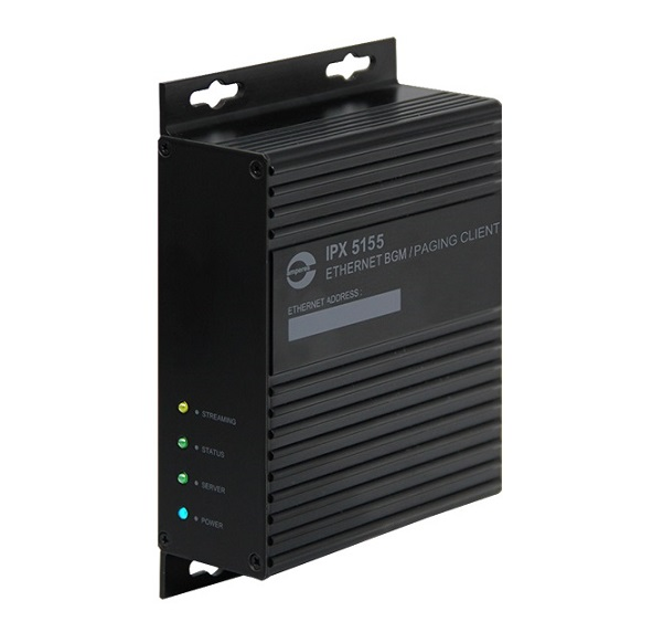 Hệ thống âm thanh IP Ethernet BGM/ Paging Client AMPERES iPX5155