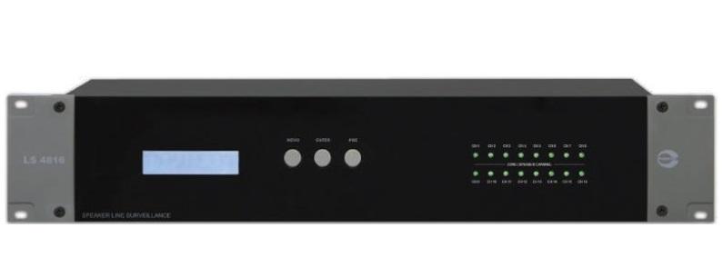 Thiết bị giám sát đường dây Loa 16 kênh AMPERES LS4816