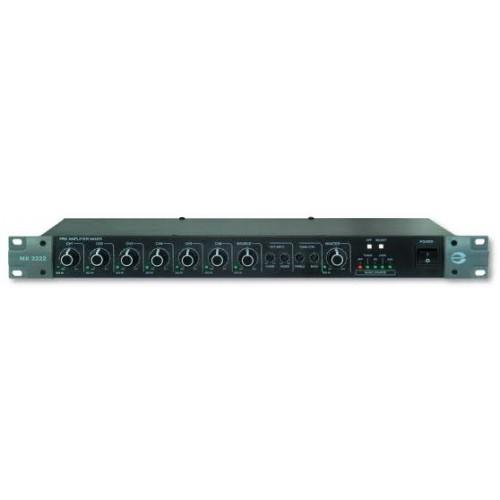 Bộ Mixer Pre-Amplifier 12 ngõ vào AMPERES MX2222