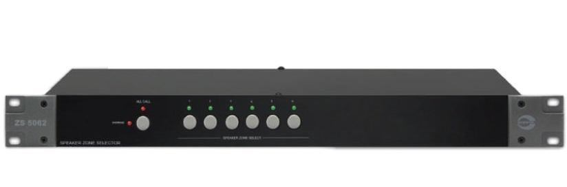 Thiết bị chọn vùng Loa 6 kênh không ngắt AMPERES ZS5602