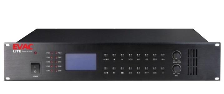 Bộ điều khiển âm thanh thông báo 8 vùng Honeywell EVACLITE
