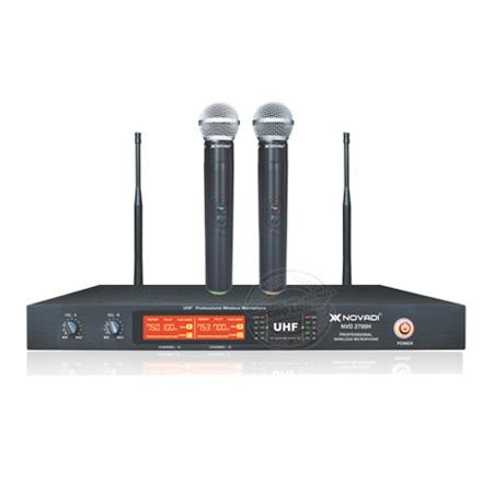 Microphone không dây NOVADI NVD-2700UB