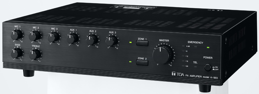 Mixer Amplifier 30W TOA A-1803