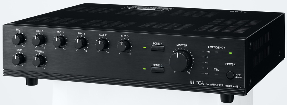 Mixer Amplifier 120W TOA A-1812