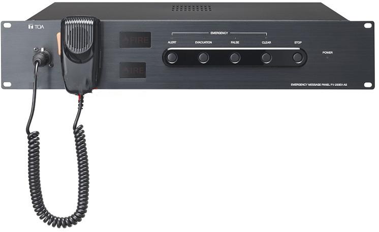 Bộ phát tin nhắn khẩn cấp TOA FV-200EV