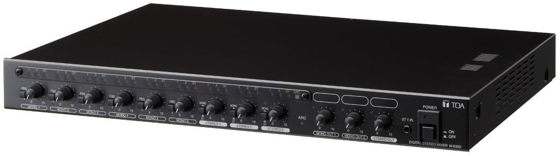 Bộ trộn Stereo kỹ thuật số TOA M-633D