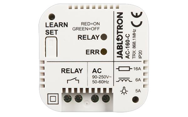 Relay đa nguồn không dây kèm hộp JABLOTRON AC-160-C