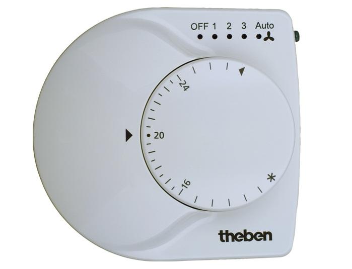 Bộ điều khiển nhiệt độ phòng THEBEN RAMSES 713 FC KNX