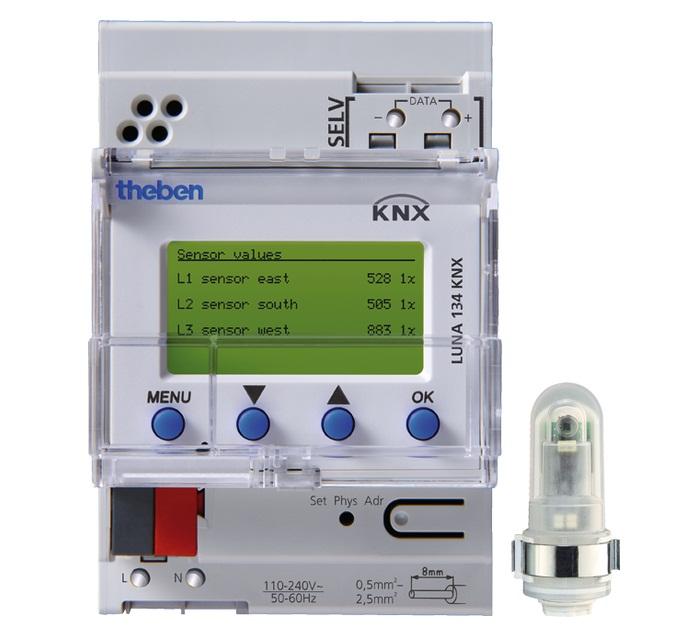 Công tắc cảm ứng ánh sáng THEBEN LUNA 134 KNX