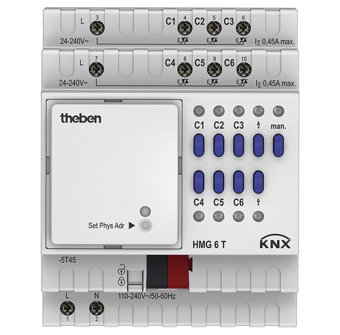 Actuator THEBEN HMG 6 T KNX