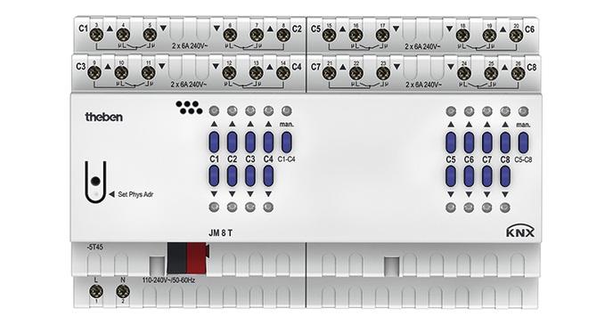 Actuator THEBEN JM 8 T KNX