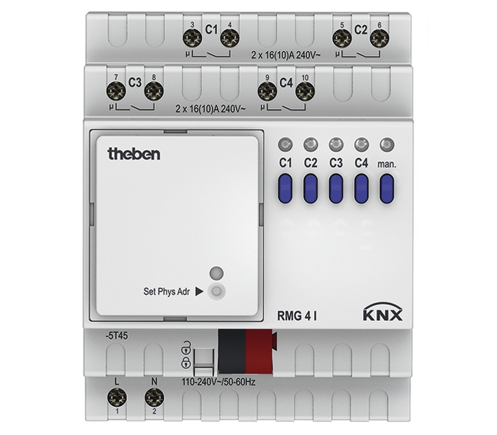 Actuator THEBEN RMG 4 I KNX