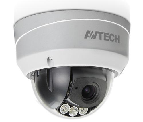 Camera HD-TVI Dome hồng ngoại 2.0 Megapixel AVTECH AVT543