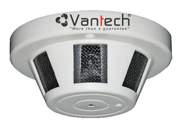 Camera camouflage smoke sensor HD-TVI VANTECH VP-1005TVI