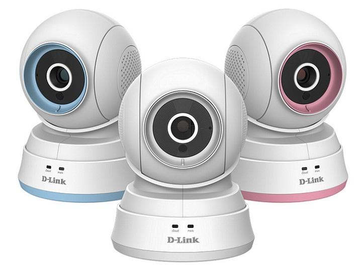 Camera IP Baby hồng ngoại không dây D-Link DCS-850L