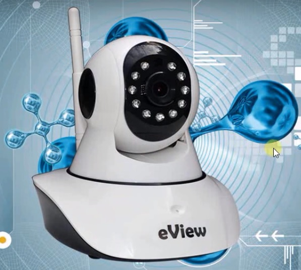 Wireless infrared IP camera eView MRBN13-W