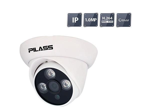 Camera IP Dome hồng ngoại 1.0 Megapixel PILASS ECAM-501IP 1.0