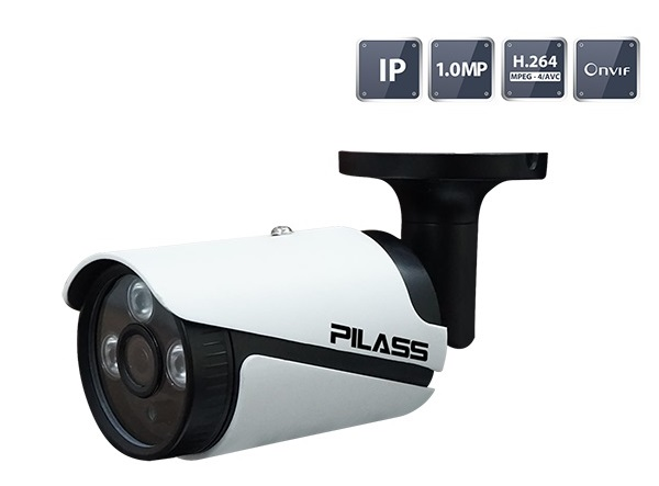 Camera IP hồng ngoại 1.0 Megapixel PILASS ECAM-605IP 1.0