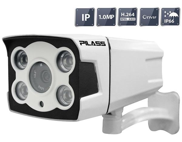 Camera IP hồng ngoại 1.0 Megapixel PILASS ECAM-701IP 1.0