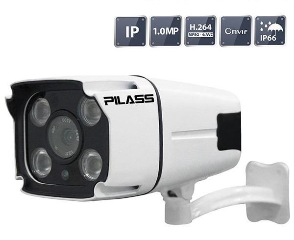 Camera IP hồng ngoại 1.0 Megapixel PILASS ECAM-702IP 1.0