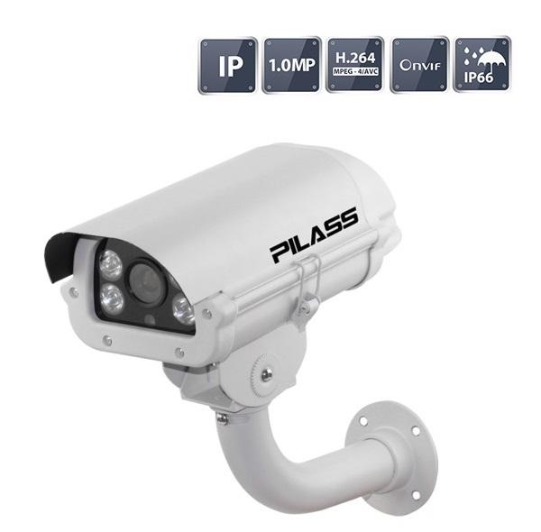 Camera IP hồng ngoại 1.0 Megapixel PILASS ECAM-801IP 1.0