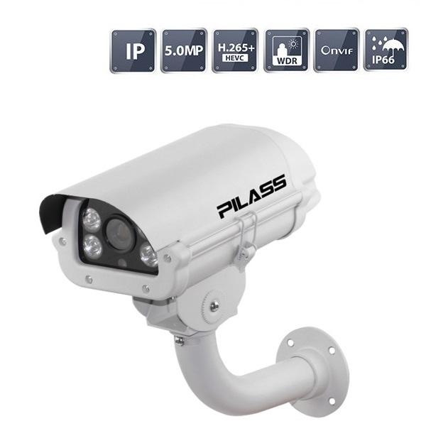 Camera IP hồng ngoại 5.0 Megapixel PILASS ECAM-801IP 5.0