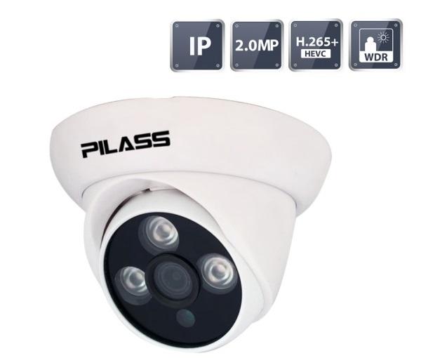 Camera IP Dome hồng ngoại 2.0 Megapixel PILASS ECAM-A501IP 2.0