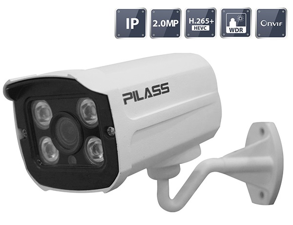 Camera IP hồng ngoại 2.0 Megapixel PILASS ECAM-A606IP 2.0
