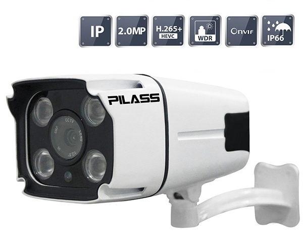 Camera IP hồng ngoại 2.0 Megapixel PILASS ECAM-A702IP 2.0