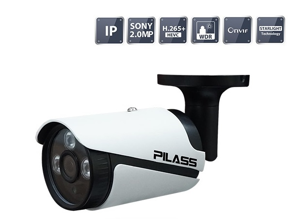 Camera IP hồng ngoại 2.0 Megapixel PILASS ECAM-H605IP 2.0
