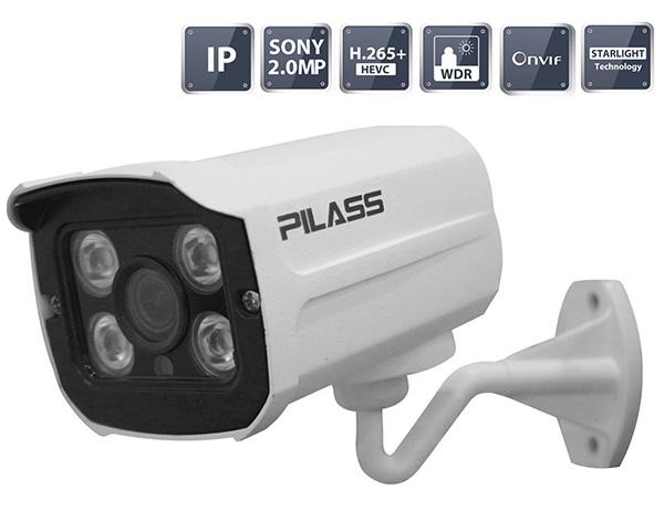 Camera IP hồng ngoại 2.0 Megapixel PILASS ECAM-H606IP 2.0