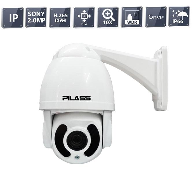 Camera IP Speed Dome hồng ngoại 2.0 Megapixel PILASS ECAM-M708IP 2.0