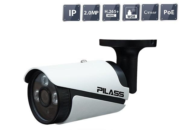 Camera IP hồng ngoại 2.0 Megapixel PILASS ECAM-PA605IP 2.0