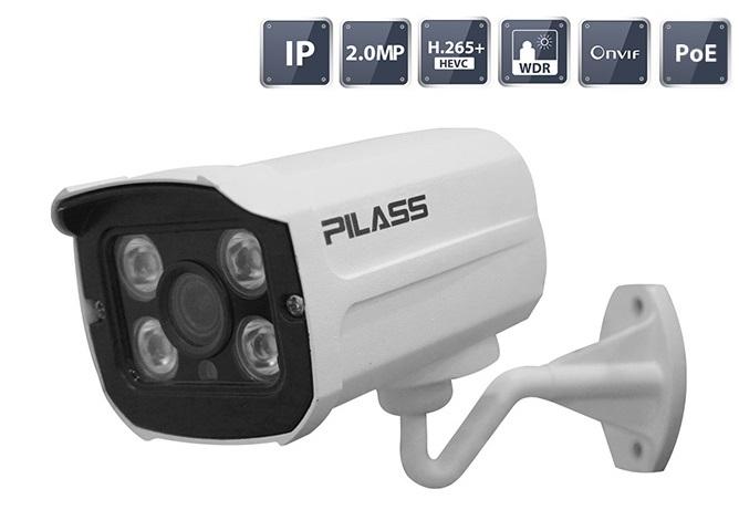Camera IP hồng ngoại 2.0 Megapixel PILASS ECAM-PA606IP 2.0
