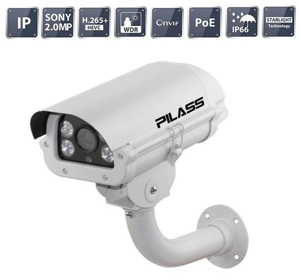 Camera IP hồng ngoại 2.0 Megapixel PILASS ECAM-PH801IP 2.0