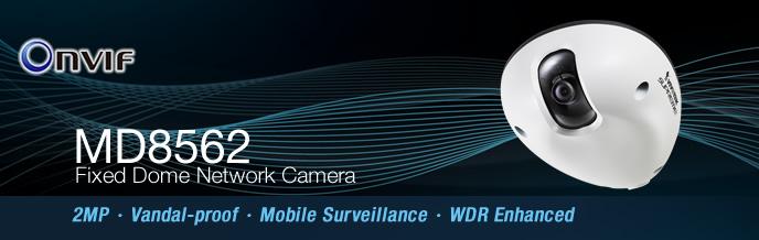Camera IP Dome Vivotek MD8562