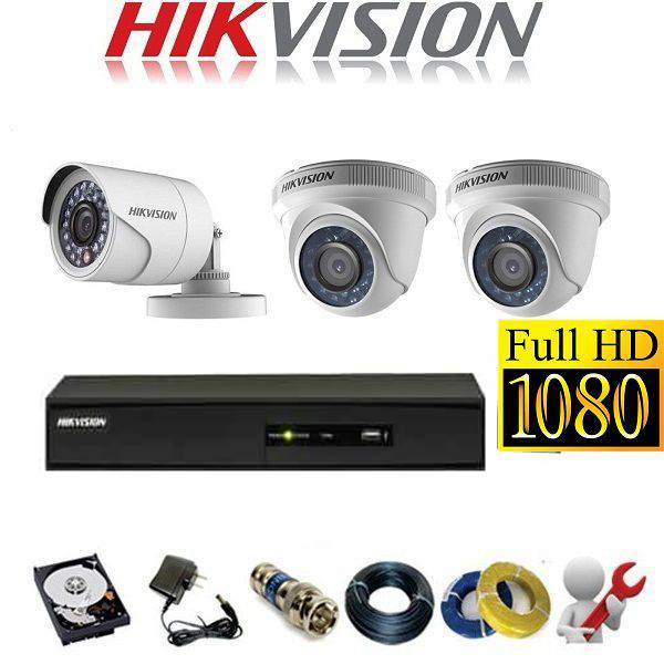 Trọn bộ camera Hikvision giá tốt cho Gia đình, Shop – Cửa hàng