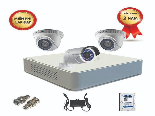Trọn bộ camera Hikvision giá tốt cho Công ty – Nhà xưởng