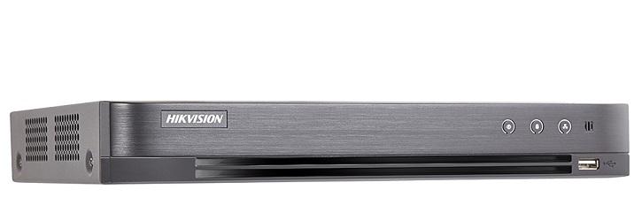 Đầu ghi hình Hybrid TVI-IP 4 kênh TURBO 5.0 HIKVISION iDS-7204HUHI-K1/4S