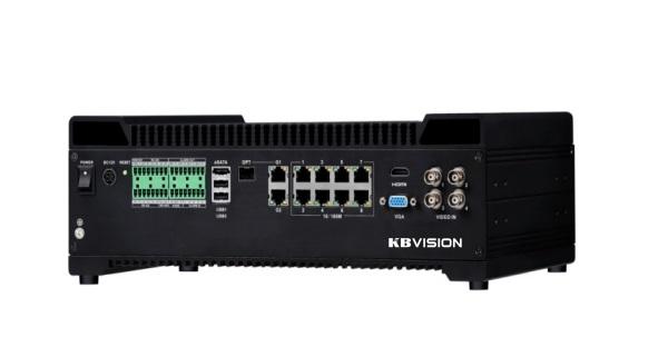 Đầu ghi hình camera IP 12 kênh KBVISION KX-9412TN5