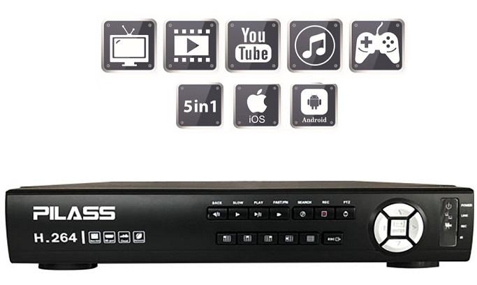 Đầu ghi hình 16 kênh 5 in 1 PILASS SNVR-C6116