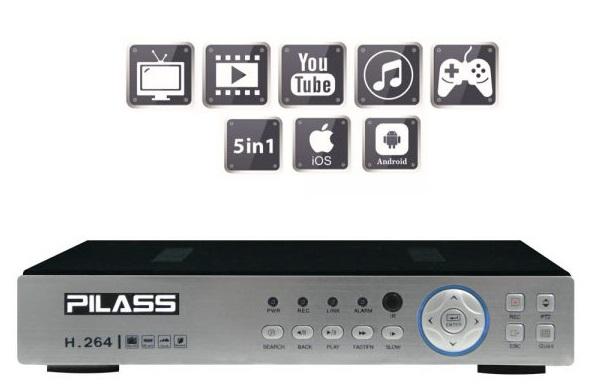 Đầu ghi hình 8 kênh 5 in 1 PILASS SNVR-CP6108