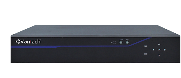 All in one 16-channel VANTECH VP-1668H265