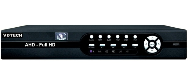 Đầu ghi hình 4 kênh 6 in 1 VDTECH VDTP-27 2MF/2