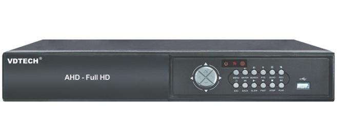 Đầu ghi hình 8 kênh 6 in 1 VDTECH VDTP-36 2M/1