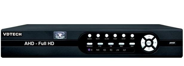 Đầu ghi hình 8 kênh 6 in 1 VDTECH VDTP-36 5M/2