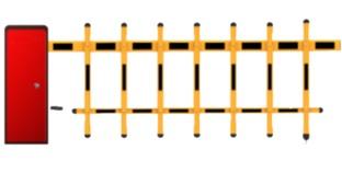 Hàng rào (Barrier) cần trái HDPARAGON HDS-TMG403-LL
