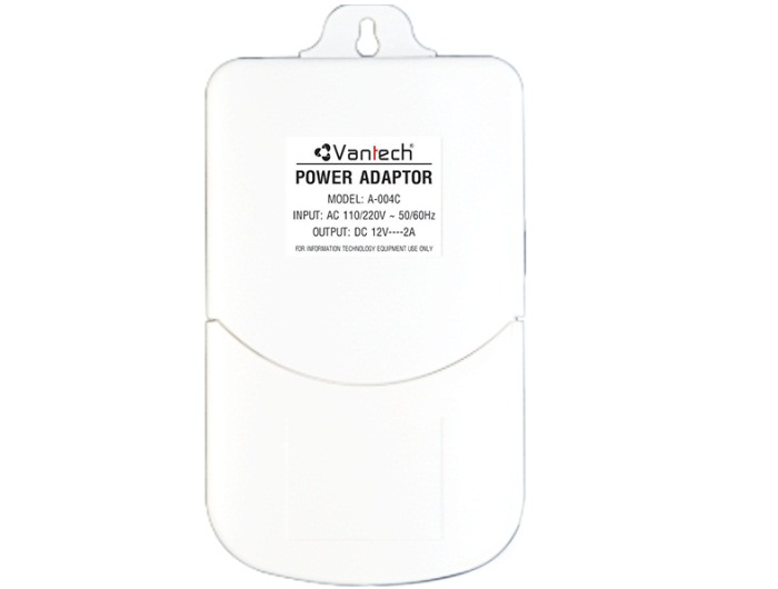 POWER ADAPTER 12V-2A VANTECH A-004C